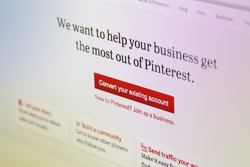 Pinterest Offers Business Accounts for Retailers